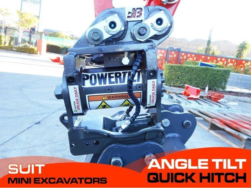 jb attachments hydraulic power tilting quick hitch / excavators tilting hitches suits 1.5t+ mini excavators [jb017] [attbuck] 281469 001