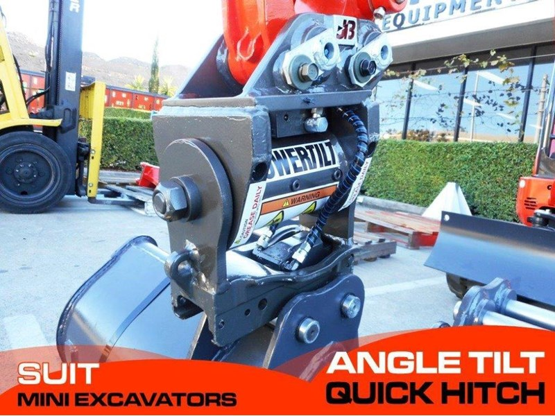 jb attachments excavators hydraulic power tilting quick hitch / suits 1.5t+ mini excavators [jb017] [attbuck] 281472 001