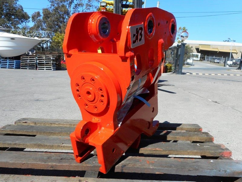 jb attachments excavators hydraulic power tilting quick hitch suits 5t+ compact excavators [jb055] [attbuck] 281477 007