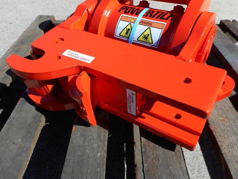 jb attachments u55, kx057 5ton+ excavators hydraulic power tilting quick hitch [jb055] [attbuck] 281478 011