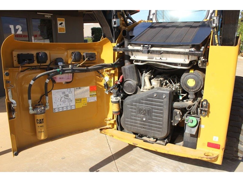caterpillar 262c skid steer loader 283126 012