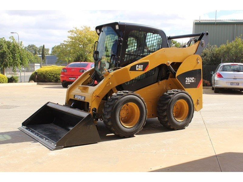 caterpillar 262c skid steer loader 283126 008