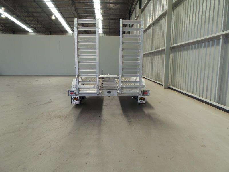 workmate alloy 3 tonne plant trailer 147083 004