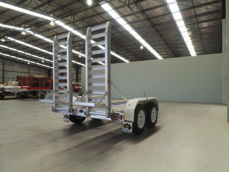 workmate alloy 3 tonne plant trailer 147083 005
