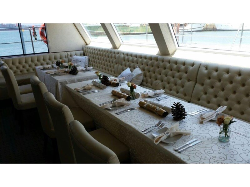 custom custom catamaran luxury 6 star 200 pax floating restaurant 289818 013