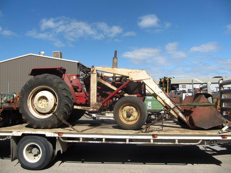 CASE IH 574 TRACTOR (WRECKING PARTS ONLY) for sale Ih Tractor Wiring Harness For on