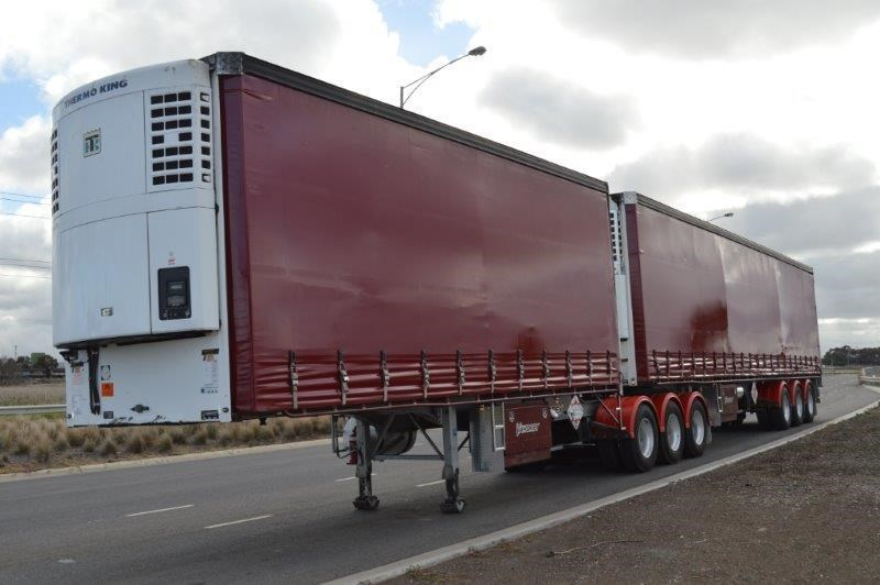 vawdrey st3 34 pallet b/double refrigerated curtainsiders 291204 001