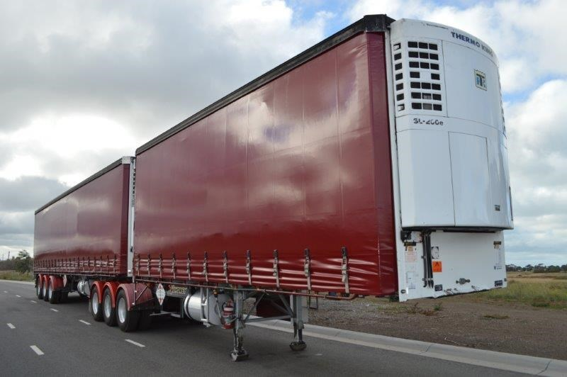 vawdrey st3 34 pallet b/double refrigerated curtainsiders 291204 002