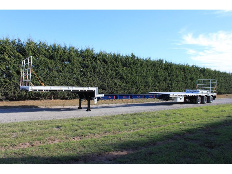 bullet extendable machinery trailer 292113 013