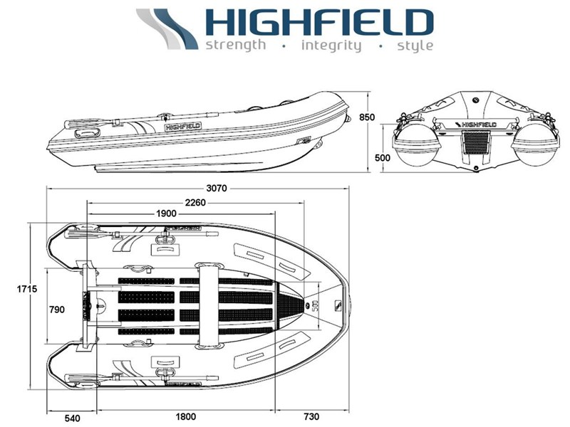 highfield 3.1m classic inflatable 295482 002