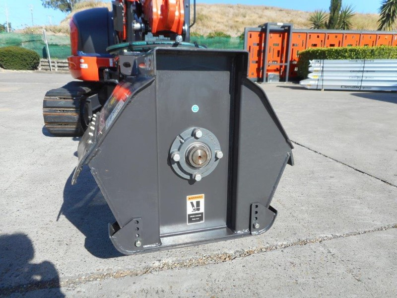 kubota flail mower / mulchers attachment with 724mm cutting width suit kubota kx057 u57 / u55 [attslash][attmulch] 297276 006