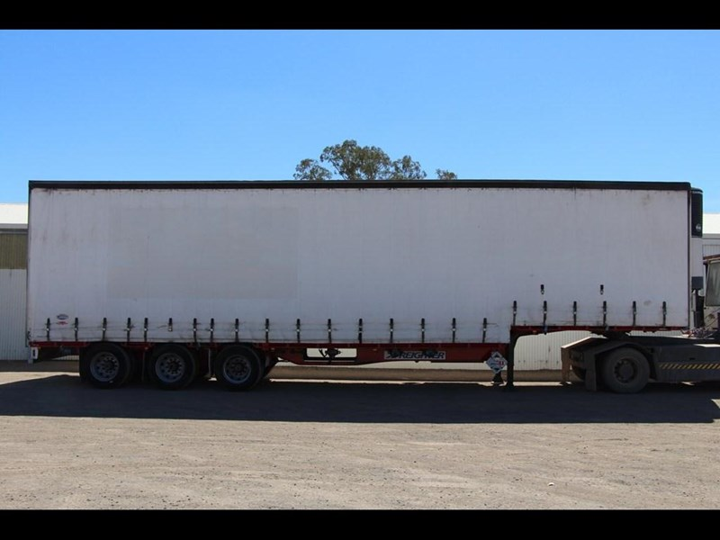 maxitrans 45ft refrigerated drop deck curtainsider trailer 298305 001