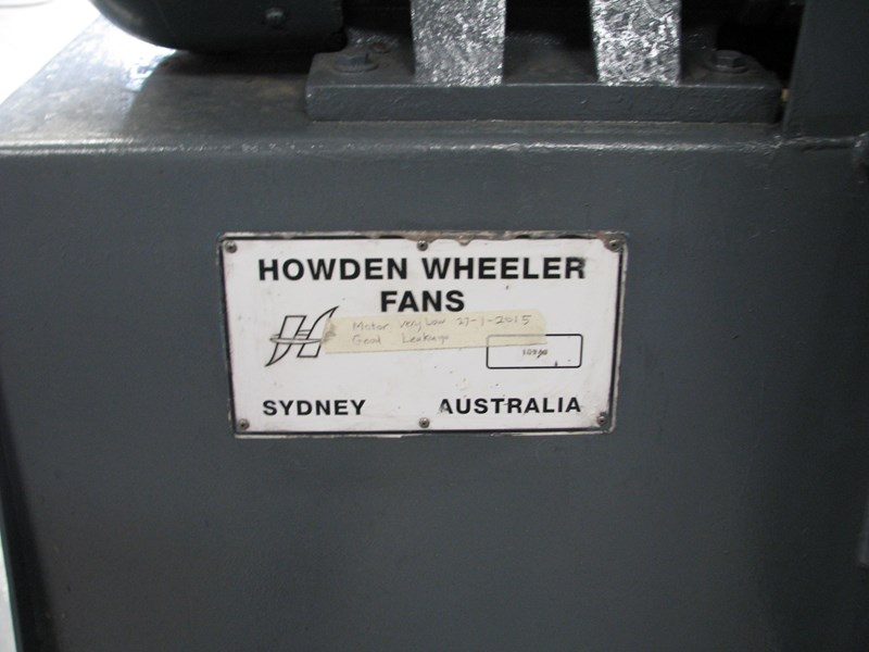 howden large industrial extraction blower fan 302557 003