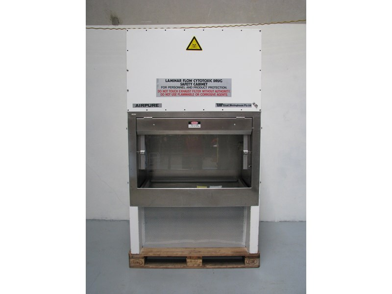 email westinghouse airpure biological safety cabinet class 2 302521 002