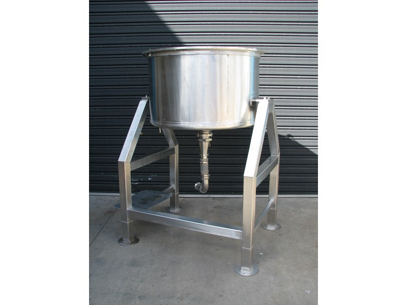 industrial stainless steel mixing tank 450l 302373 001