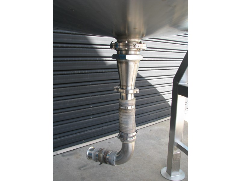 industrial stainless steel mixing tank 450l 302373 002