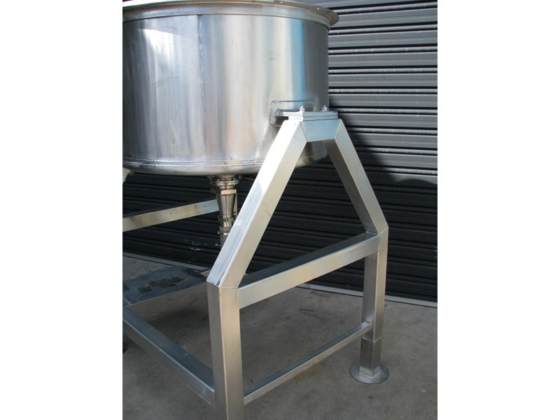 industrial stainless steel mixing tank 450l 302373 005