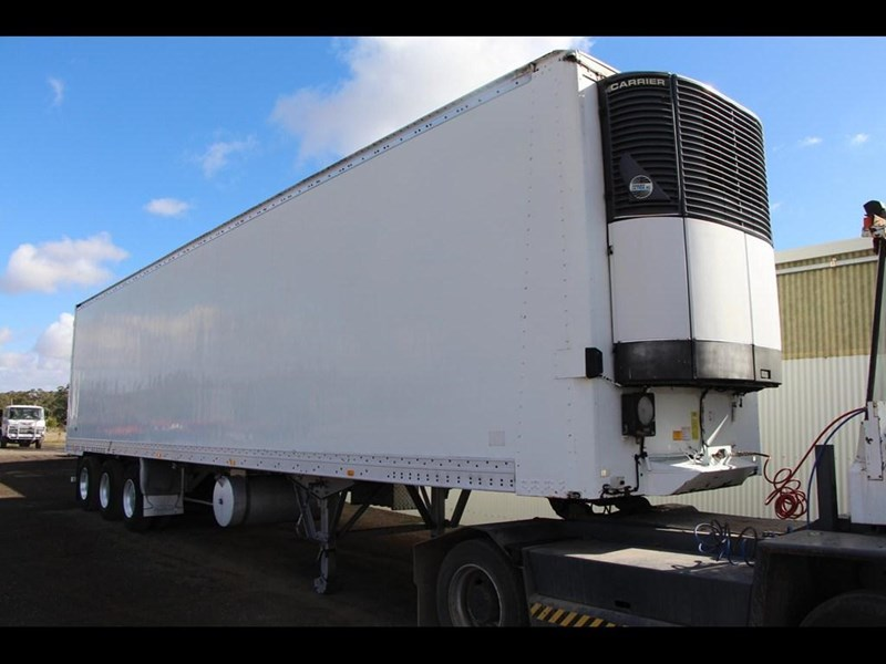 maxi-cube 45ft refrigerated pantech trailer 303437 012