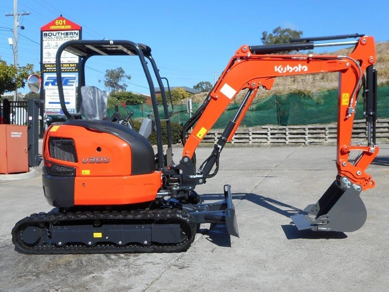 kubota new 3.2 ton compact excavator [unused] [machexc] 305977 002