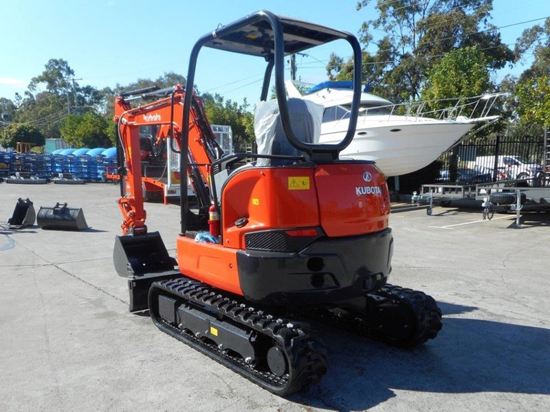 kubota unused 3.2 ton compact excavator [just arrived] [machexc] 305992 004