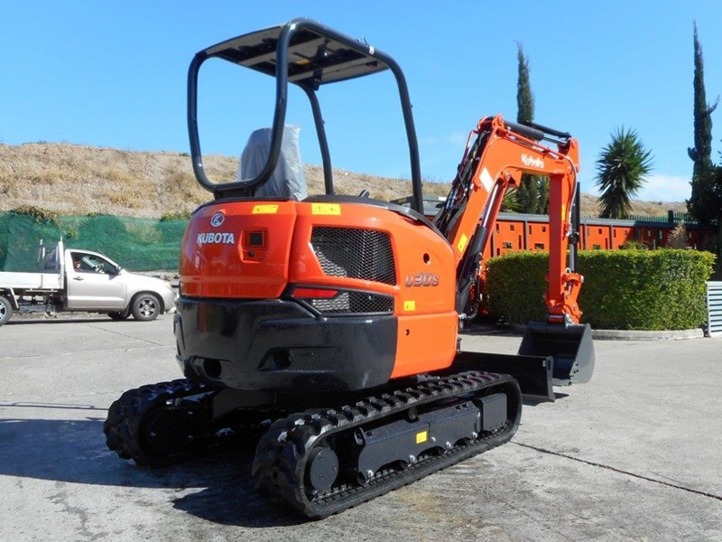 kubota new 3.2 ton compact excavator [unused] [machexc] 305977 004