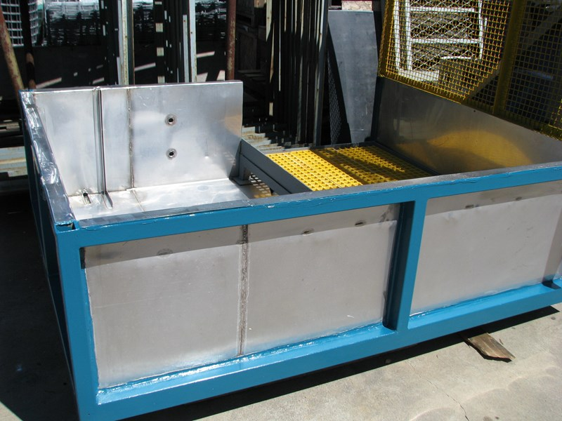 industrial hazardous spill tray containment 309751 002
