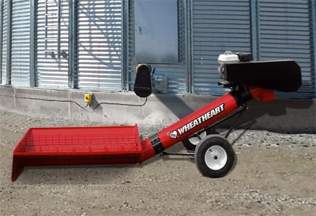 "wheatheart 10"" transfer auger - gas drive 310124 001"