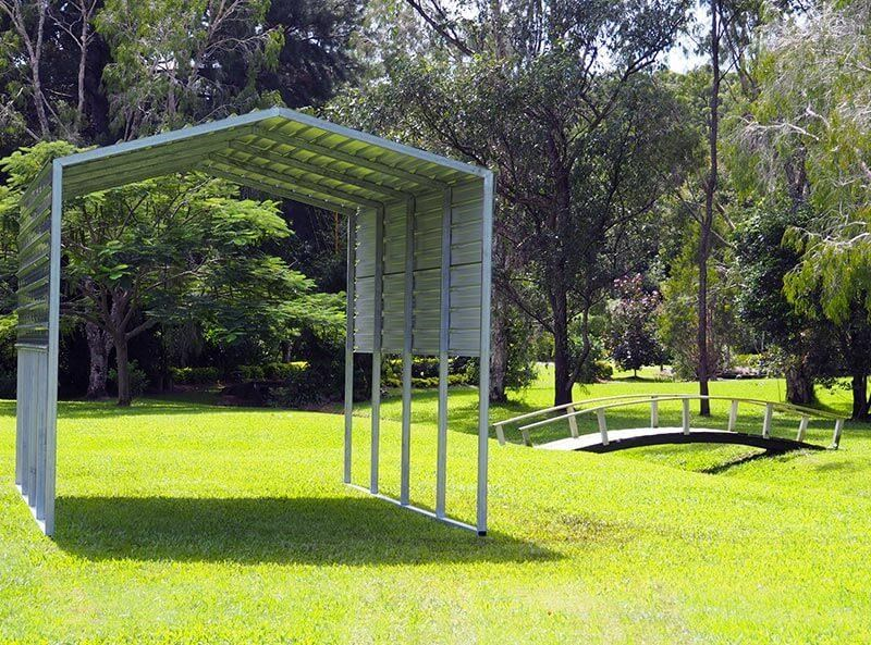 shedfast 3.7m x 6m shade shed 311265 006