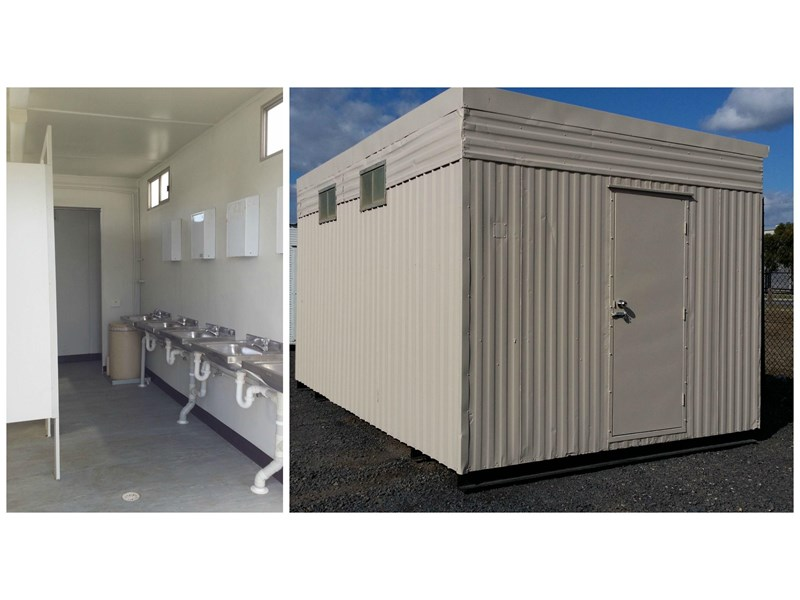 mcgregor 5.5m x 3.3m  toilet block 313378 009