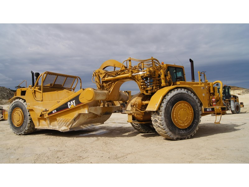caterpillar 627e scraper 314778 001
