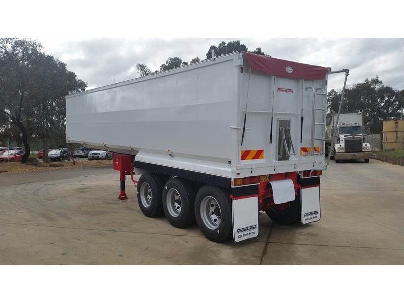 freightmaster 32' x 6' steel chassis tipper 16169 005