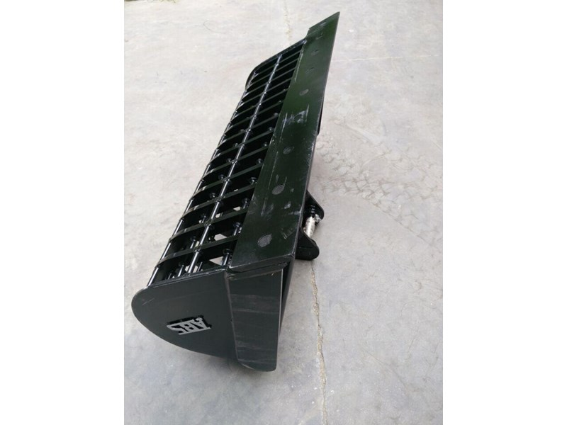 australian bucket supplies skeleton bucket fitted w/ boe to suit 3-4t excavators 316883 005