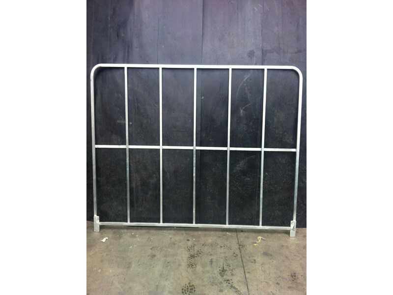 mesh steel freight gates 1500 mm x 1900 mm 316707 002