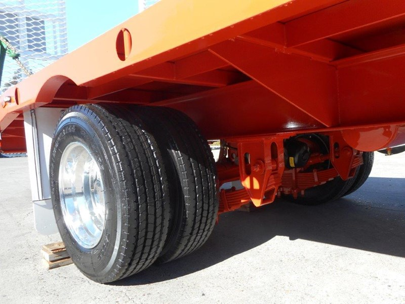 kubota 11 ton single axle 5m tag trailer combo with kubota kx-57/u57 5.5 ton excavator [machexc] [attrail] [mcombo] 318321 019