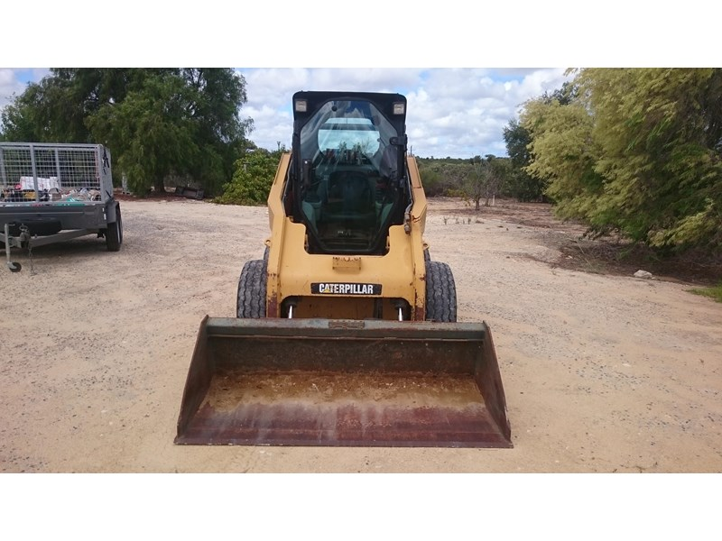 caterpillar 262c skid steer loader 318601 002