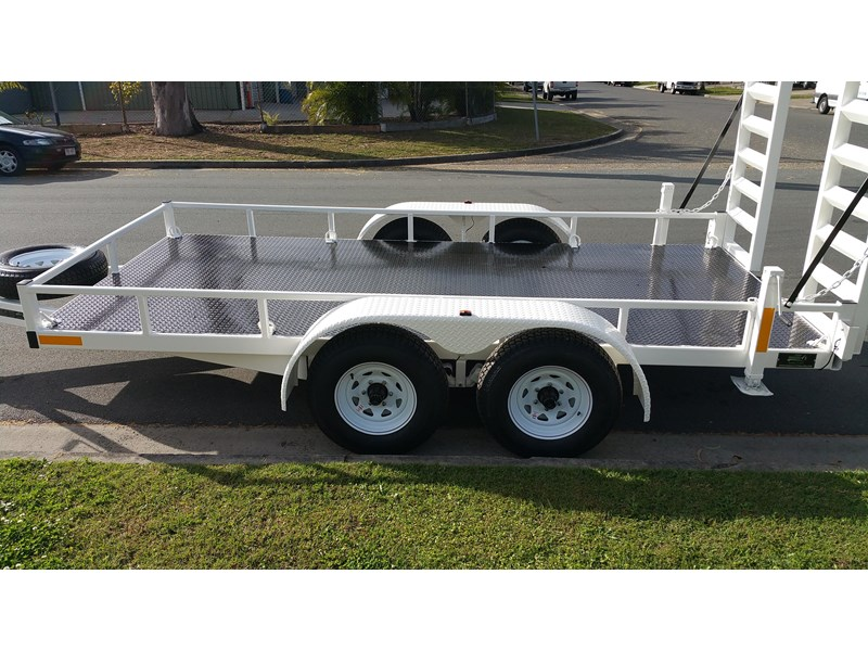 positive quality trailers 14ft 4.5 tonne heavy duty machinery trailer 318959 002