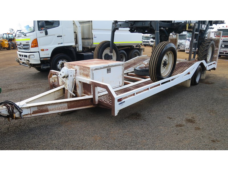 brazier single axle float trailer 320200 001