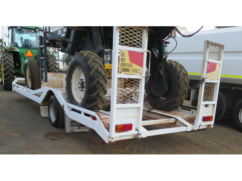 brazier single axle float trailer 320200 005