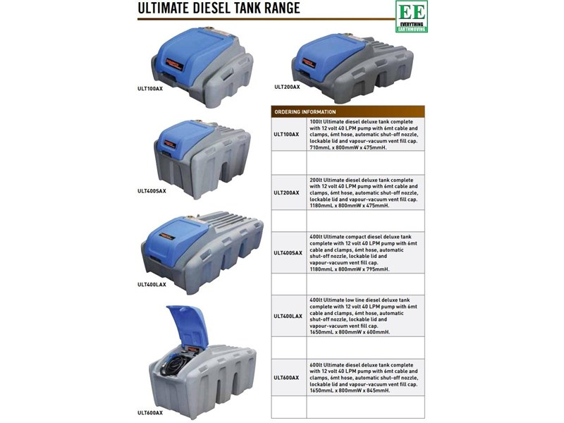 tuff tank 600 ltr steel diesel tanks and pumps 321282 011