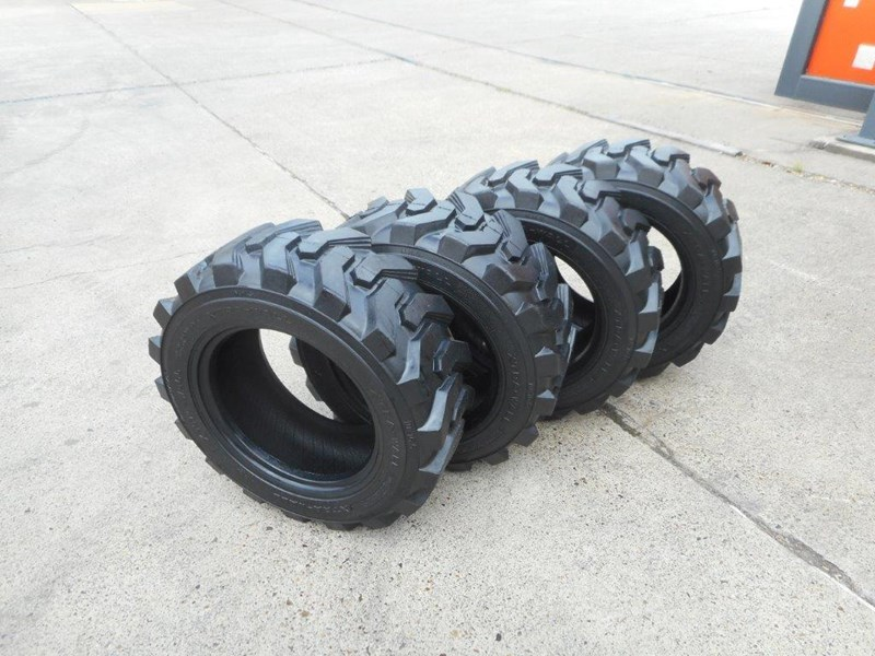 rhino 10-16.5 skid steer loader spare tyres - 10ply xtra side walls [heavy duty] [20kg] suit bobcats loaders [atttyre] 326254 007