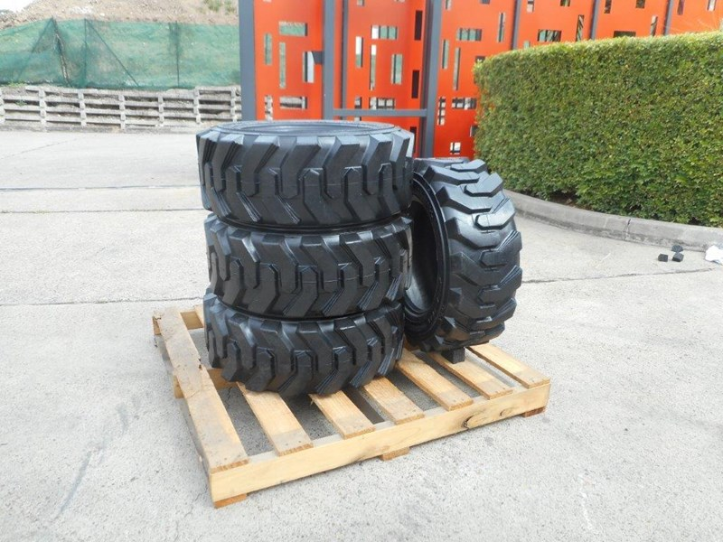 rhino 10-16.5 skid steer loader spare tyres - 10ply xtra side walls [heavy duty] [20kg] suit bobcats loaders [atttyre] 326254 010