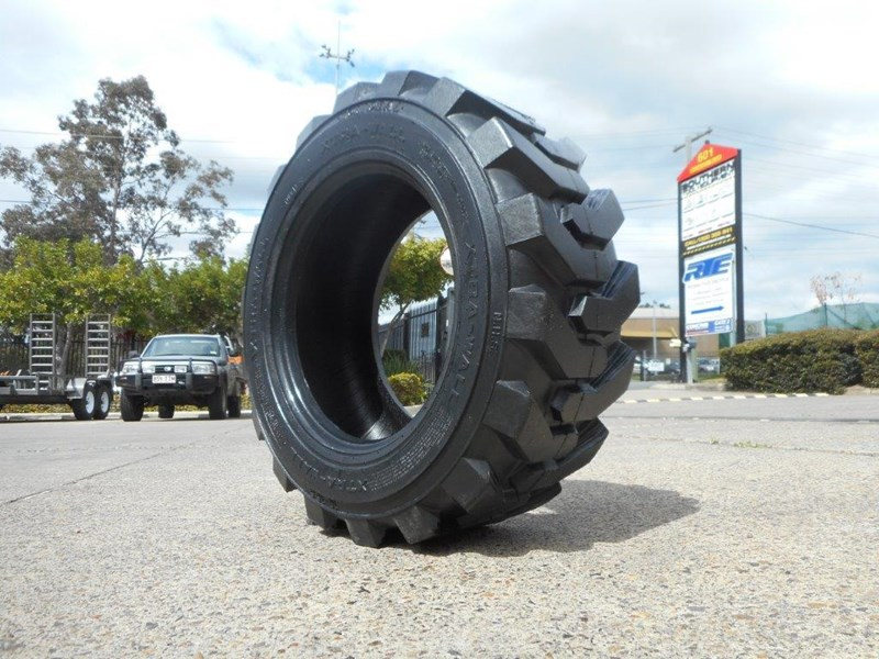 rhino 10-16.5 skid steer loader spare tyres - 10ply xtra side walls [heavy duty] [20kg] suit bobcats loaders [atttyre] 326254 014