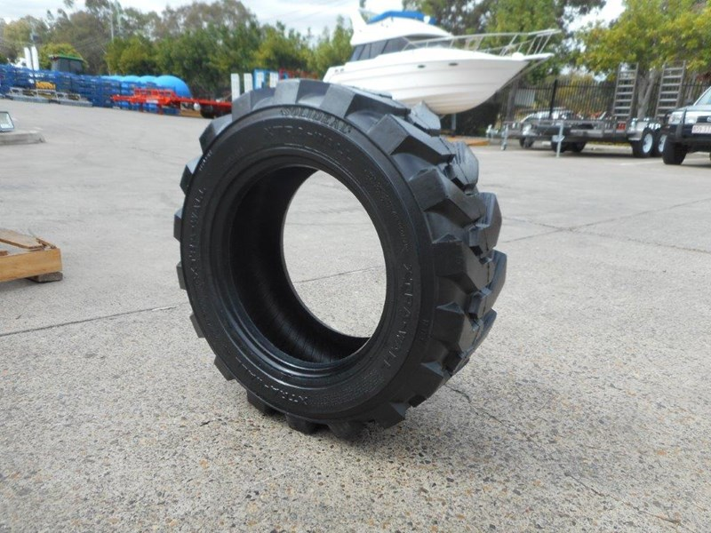 rhino 10-16.5 skid steer loader spare tyres - 10ply xtra side walls [heavy duty] [20kg] suit bobcats loaders [atttyre] 326254 017