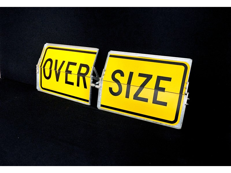"unknown folding type ""over size"" signs 316124 001"