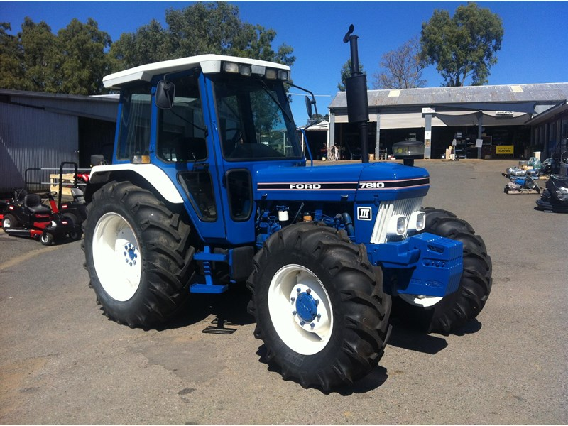 Ford 7810 Tractor : Ford for sale
