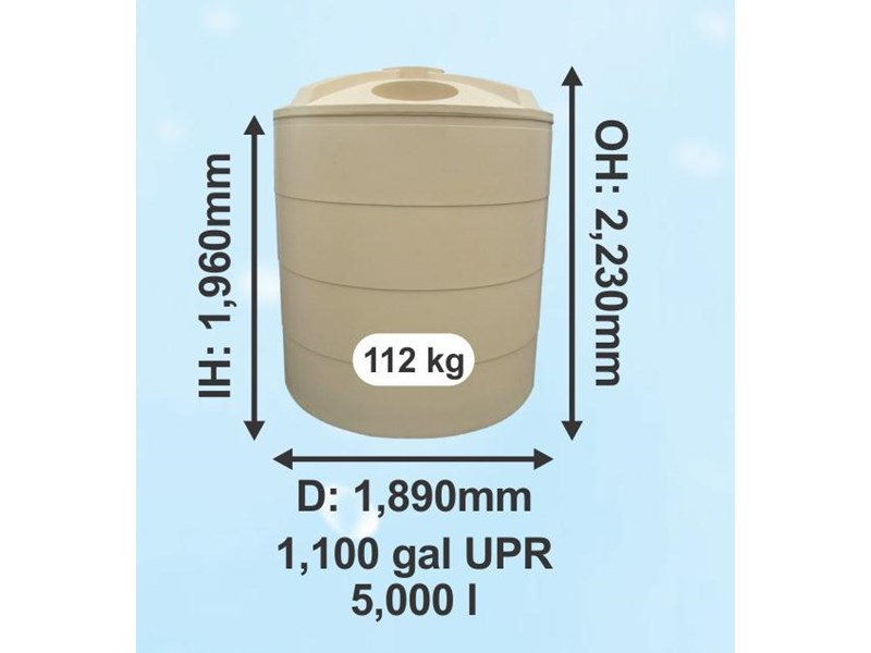 rain again tanks 5000ltr (1100gal) poly 325040 003