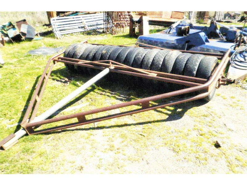 unknown 8' tyre roller 325744 001