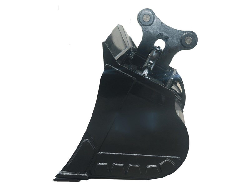 australian bucket supplies tilt bucket fitted w/boe to suit 12-14t excavators 327682 003