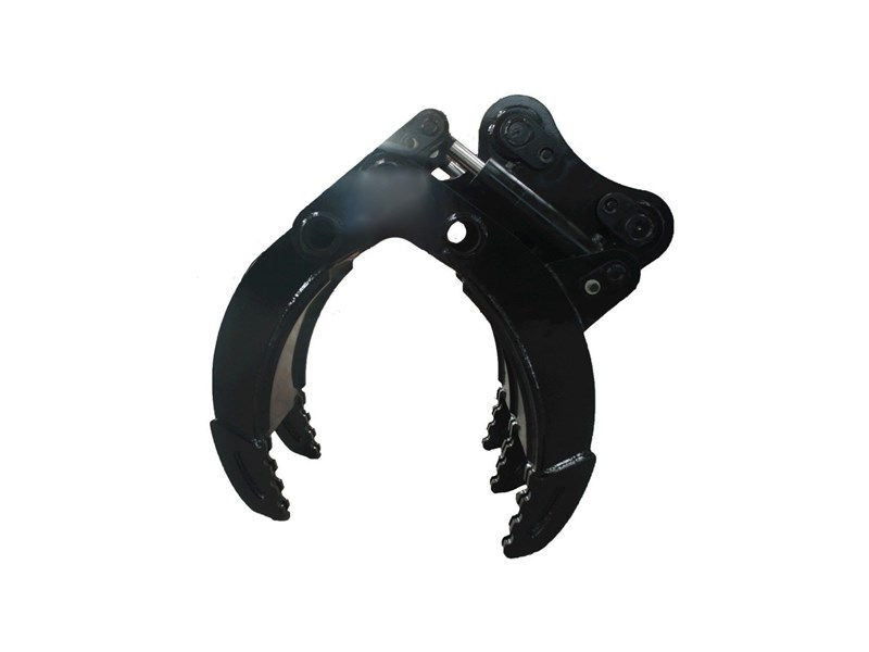 australian bucket supplies hydraulic 5 finger rock grab to suit 12-14t excavators 327695 004