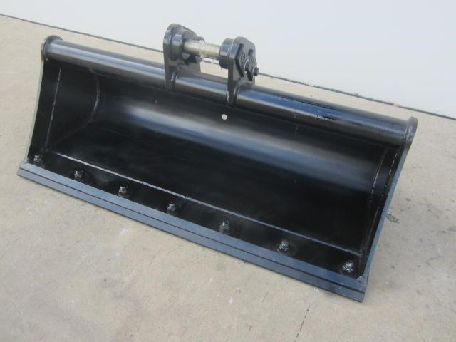 australian bucket supplies 900mm mud bucket fitted w/boe to suit 1-2t excavators 334615 002